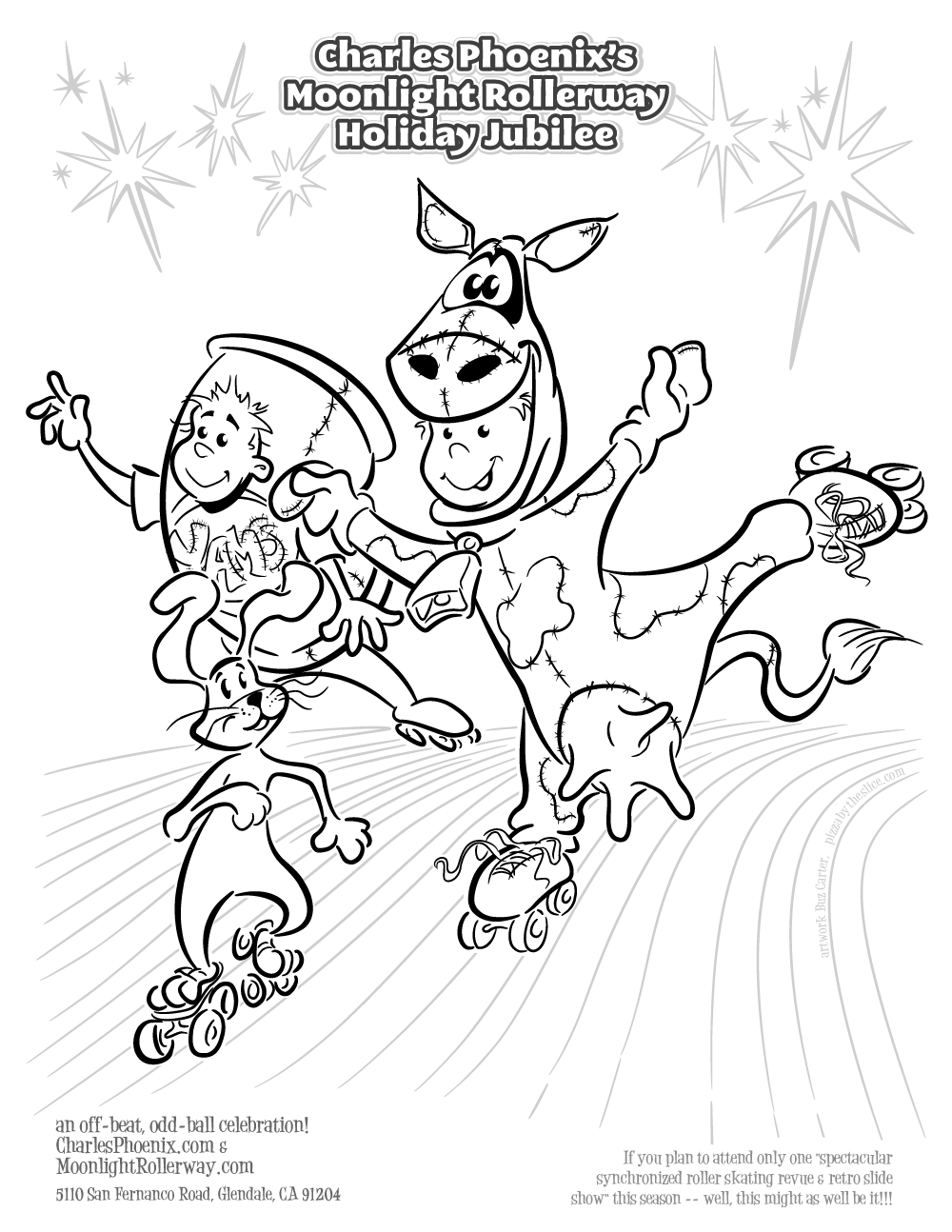 Roller Skating Coloring Pages my Coloring Page