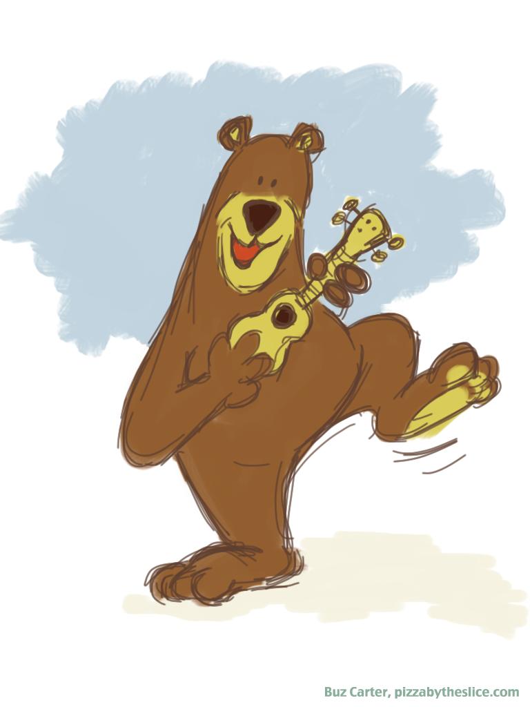 """The """"Yosemite Ukulele Rangers"""" Dancing Bear Mascot (iPad ..."""