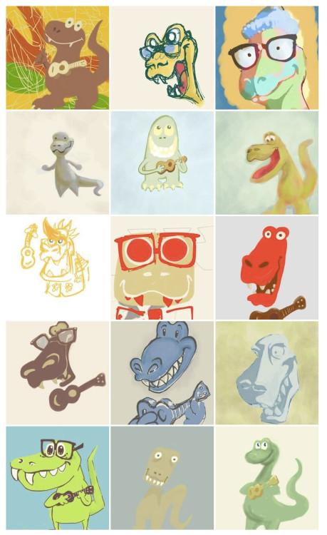ukegeeks-dinosaur-sketches